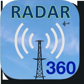 Radar 360 App Icon