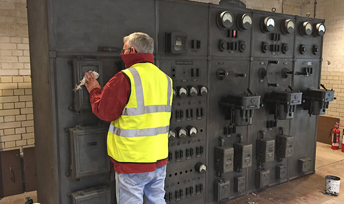 Conserving the switchgear