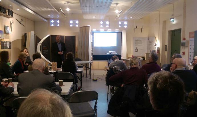 Bawdsey Radar hosts AfSM meeting