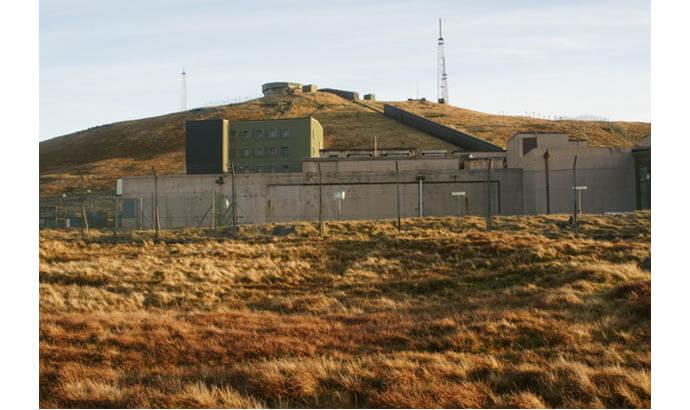 New Remote Radar Head facility, at Saxa Vord, Unst in Shetland.