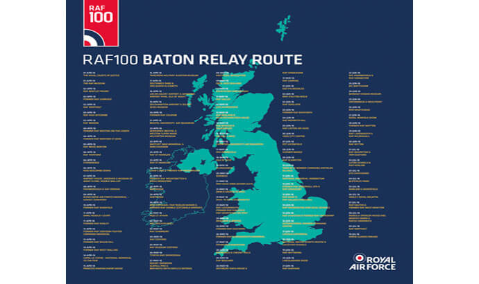 RAF Baton Relay is coming to Bawdsey!
