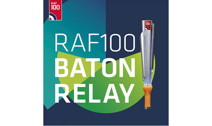 RAF100 Baton Relay Team visit is this Sunday, 24th June!