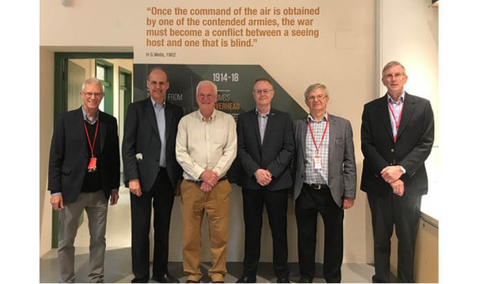 Salford University Professor visits Bawdsey Radar