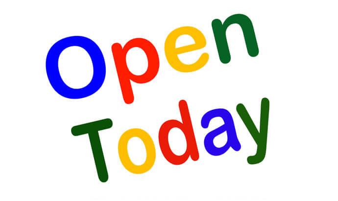 We are open Wednesdays!!