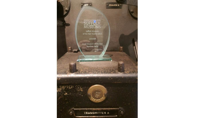 Bawdsey Radar Museum wins top museum award