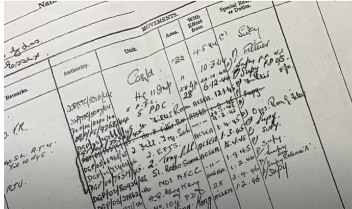 Tracing WW2 Service Records