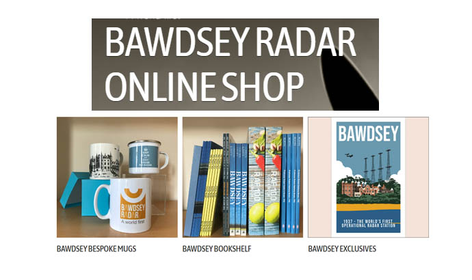 SUPPORT BAWDSEY RADAR TRUST ON EVERY OCCASION!